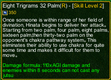 naruto castle defense 6.0 Soft fist method The eight trigrams thirty-two palm detail