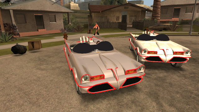 GTA V Vapid Peyote Batmobile 66 download by automan