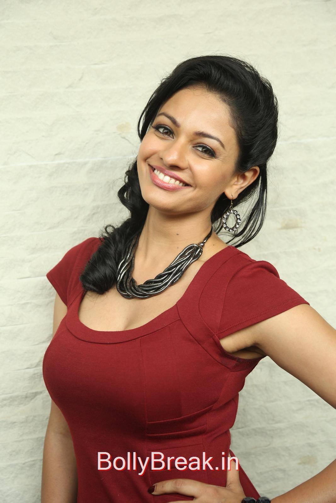 Pooja Kumar Unseen Stills, Hot HD Images of Pooja Kumar from Uttama Villain Movie Release Date Press Meet