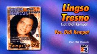 Lirik Lagu Lingso Tresno - Didi Kempot