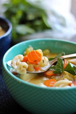 Classic Vegan Noodle Soup