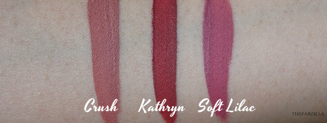Anastasia Beverly Hills Liquid Lipstick, Kathryn, Crush, Soft Lilac Review Swatch