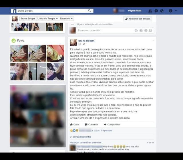 Jovem do Acre transmite suicídio ao vivo no Instagram