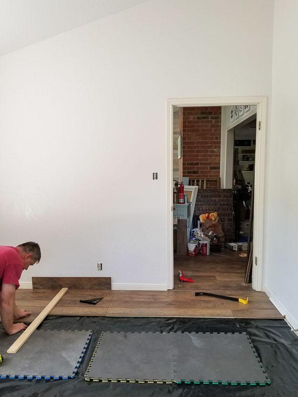 laying floors
