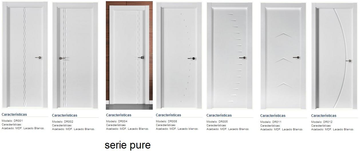 Made of wood puertas lacadas en blanco los nuevos for Puertas dm lacadas en blanco