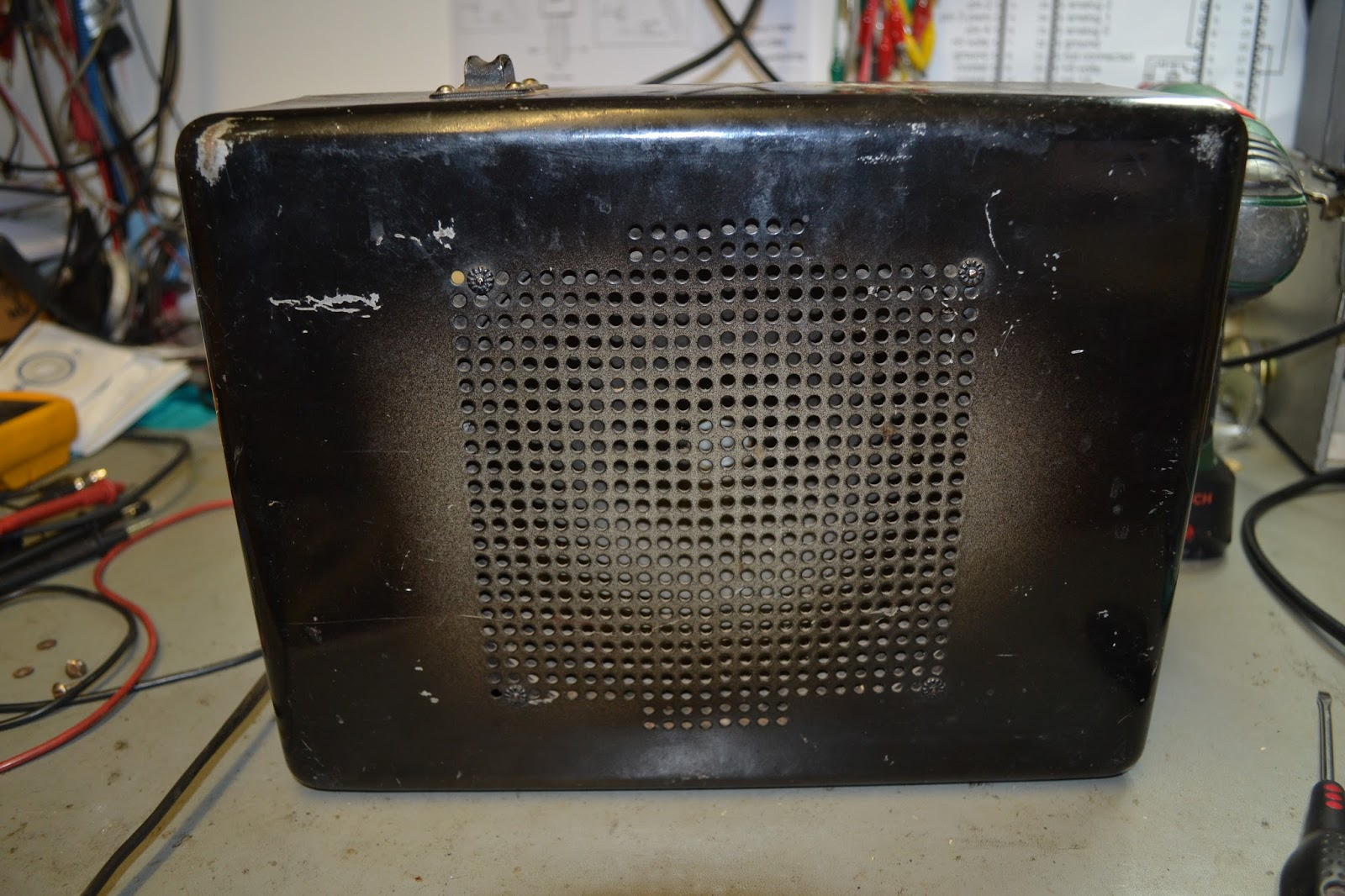 Doz Blog Rickenbacker Rickenbacher Model 59 Lap Steel Guitar Amp Amplifier Timer Heres A Delightful Old Norman Sorry Couldnt Resist Anyway He Brought An Over For Look