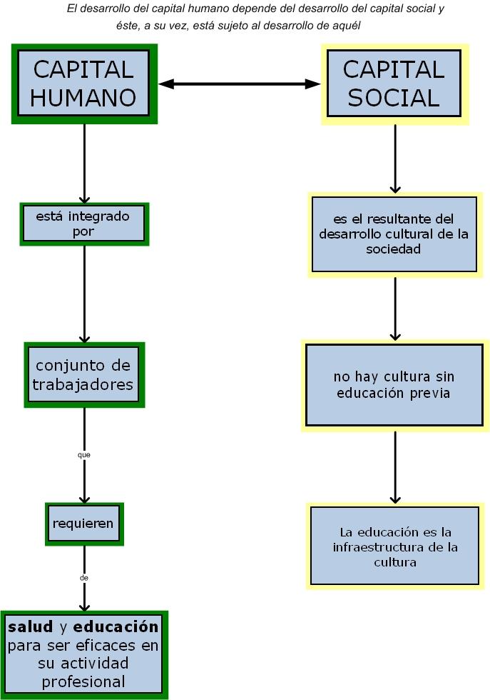 Economia De La Educacion Relacion Entre Capital Humano Y