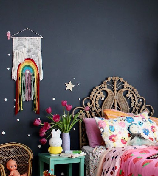 Bohemian interiors for kids!