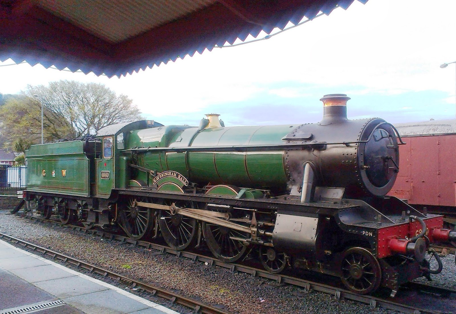 Ravingham Hall at West Somerset Railway
