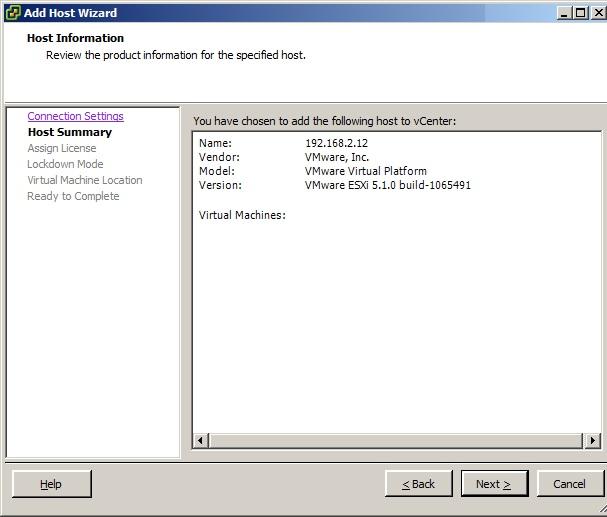 vcenter server 5.5 license key location