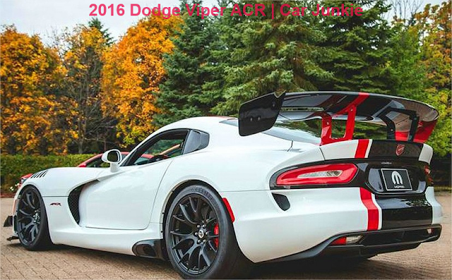 New 2016 Dodge Viper ACR Specs | Cost and Performance - 2017 Top Car Zone