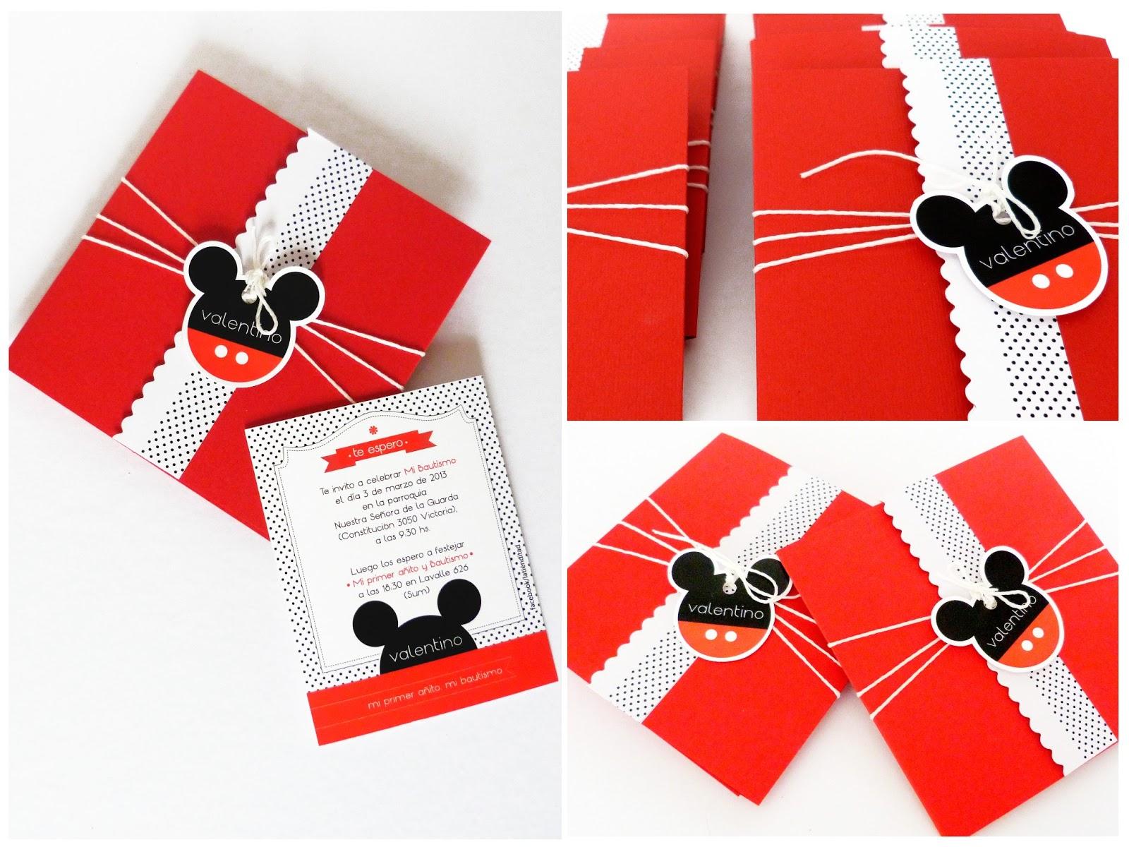 La Tiendita Party Studio Cumplea 241 Os Mickey Amp Minnie