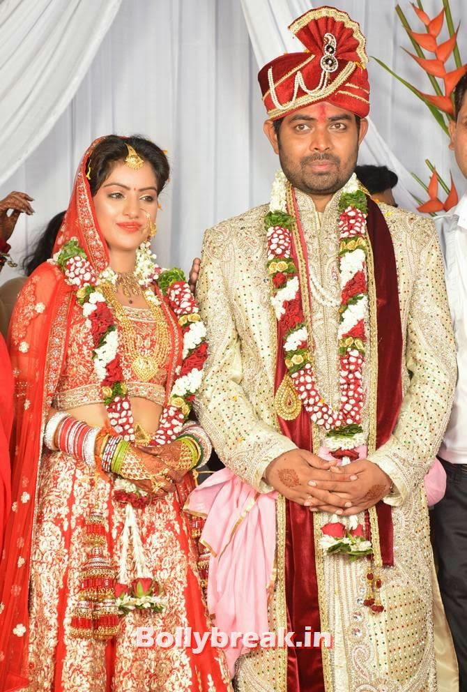 Deepika Singh and Rohit Raaj Goyal, Diya Aur Baati Hum star Deepika Singh Marriage Pictures