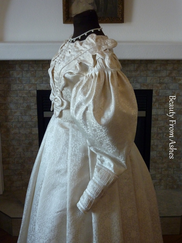 Beauty From Ashes: 1830s Wedding Dress