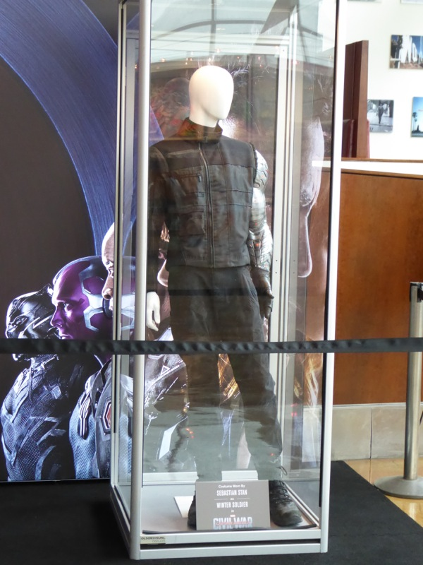 Captain America Civil War Winter Soldier movie costume