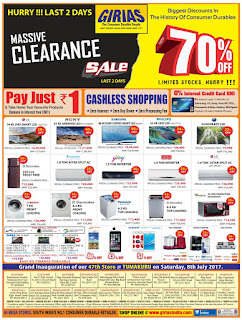 GIRIAS CLEARANCE SALE