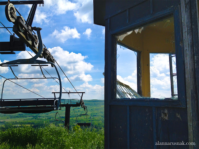 abandoned ski resort