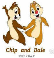 PATRONES GRATIS AMIGURUMI CHIP AND DALE