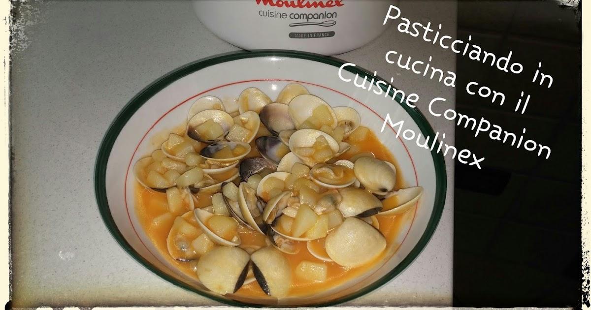 Zuppetta di vongole e patate con il Cuisine Companion Moulinex