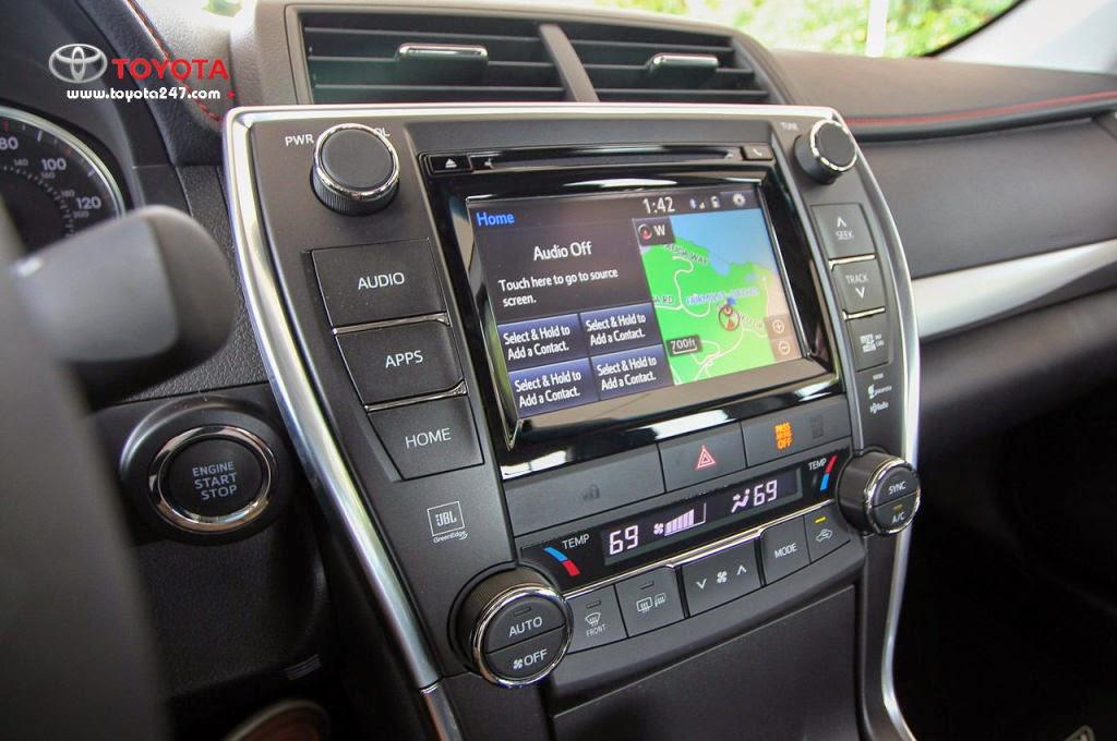 DVD chất lượng cao của Toyota Camry 2015