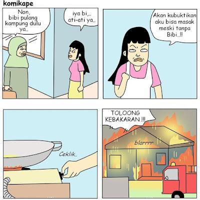 10 Meme 'Ditinggal Pembantu Pulang Kampung' Ini Bikin Ngakak Seharian