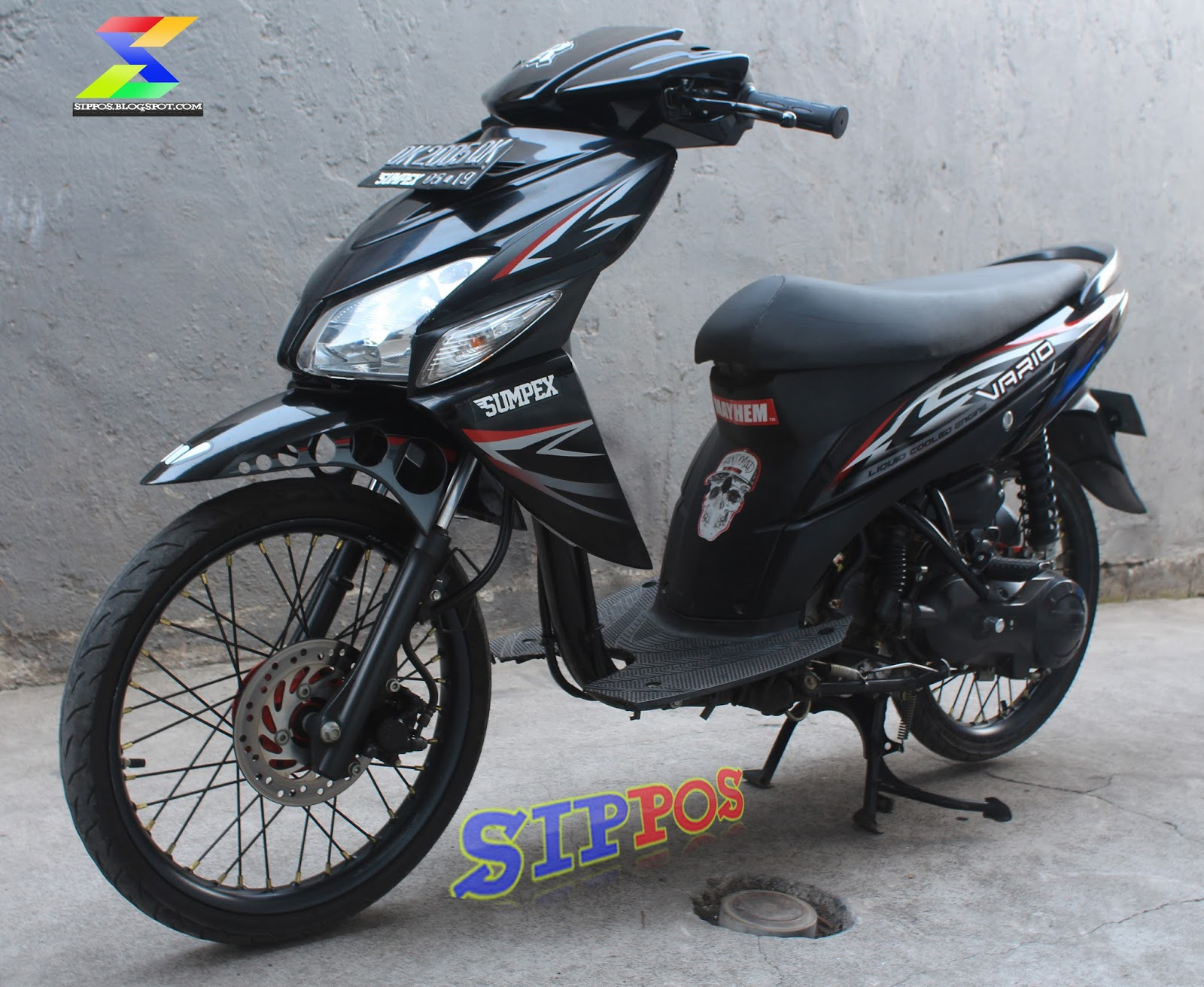 Gambar Modifikasi Motor Vario Cw Terkeren Earth Modification