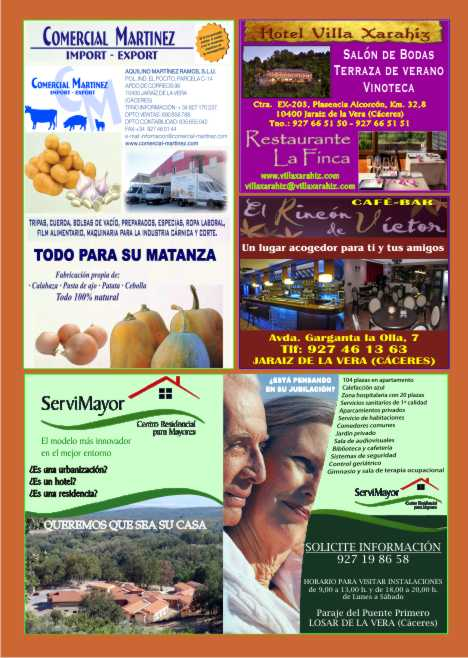 Revista La Vera Revista La Vera Nº 166 Abril 2012