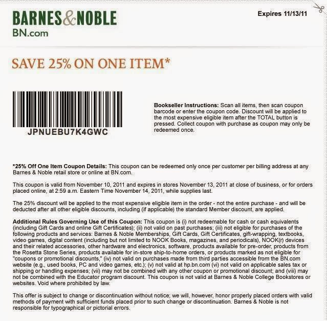 picture about Barnes and Noble Printable Gift Card known as Barnes and noble discount codes 2015 / Dell outlet coupon