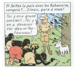 Terre Et Peuple Poitoucharentes Tintin N'est Pas Raciste