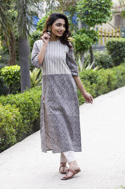 buy pure cotton Kurtis and tunics online