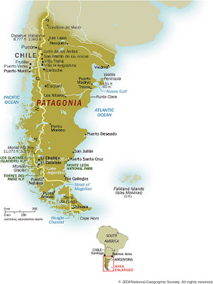 Patagônia, Região da América do Sul (Argentina e Chile)