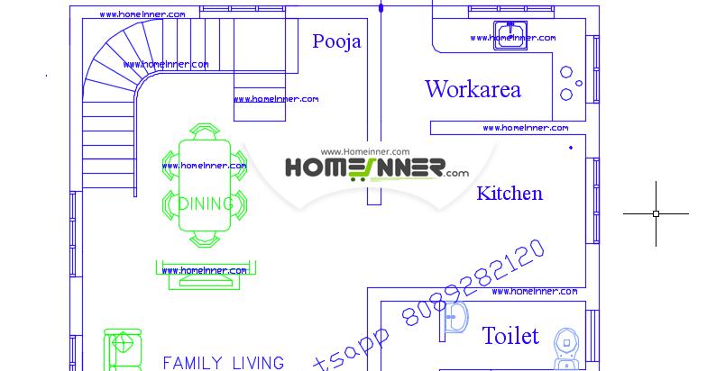 Kerala home plans 900 sq feet