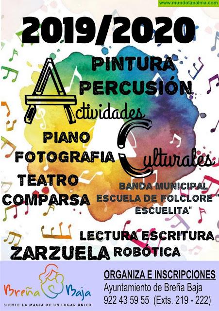 BREÑA BAJA: Promoción Cultural 2019 - 2020