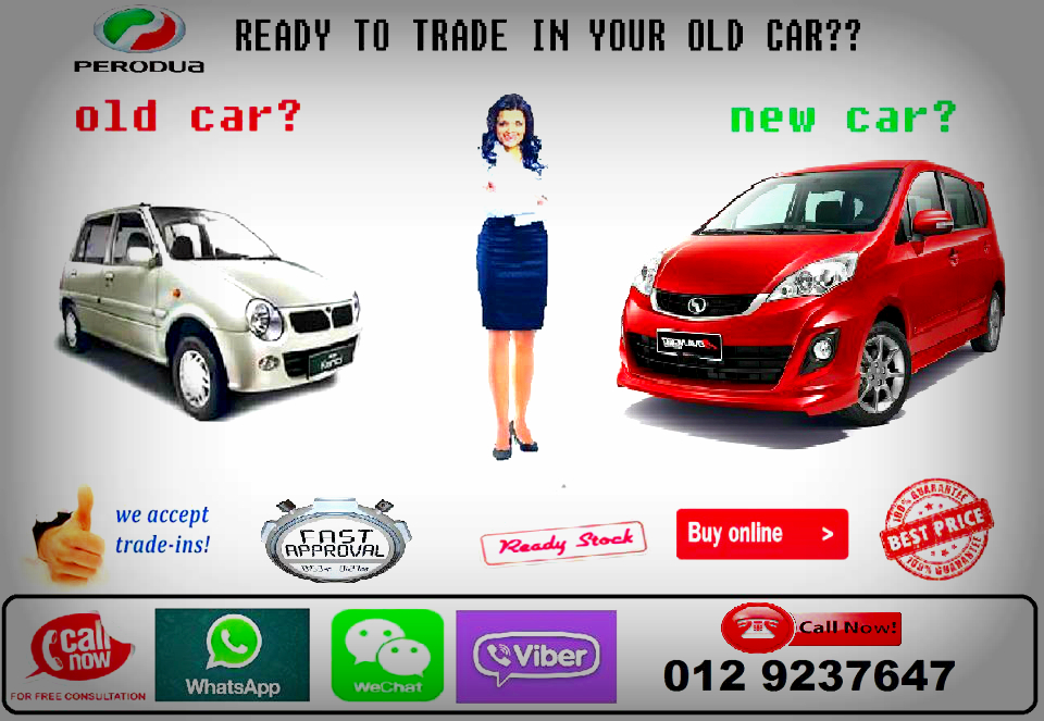 Trade-In your current car with Perodua POV (pre owned vehicle ...