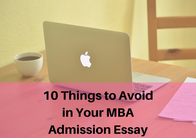 Mba admission essay buy before