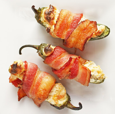 Delicious bacon wrapped low carb jalapeño poppers!