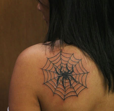 15 Ideas For Spider Tattoos