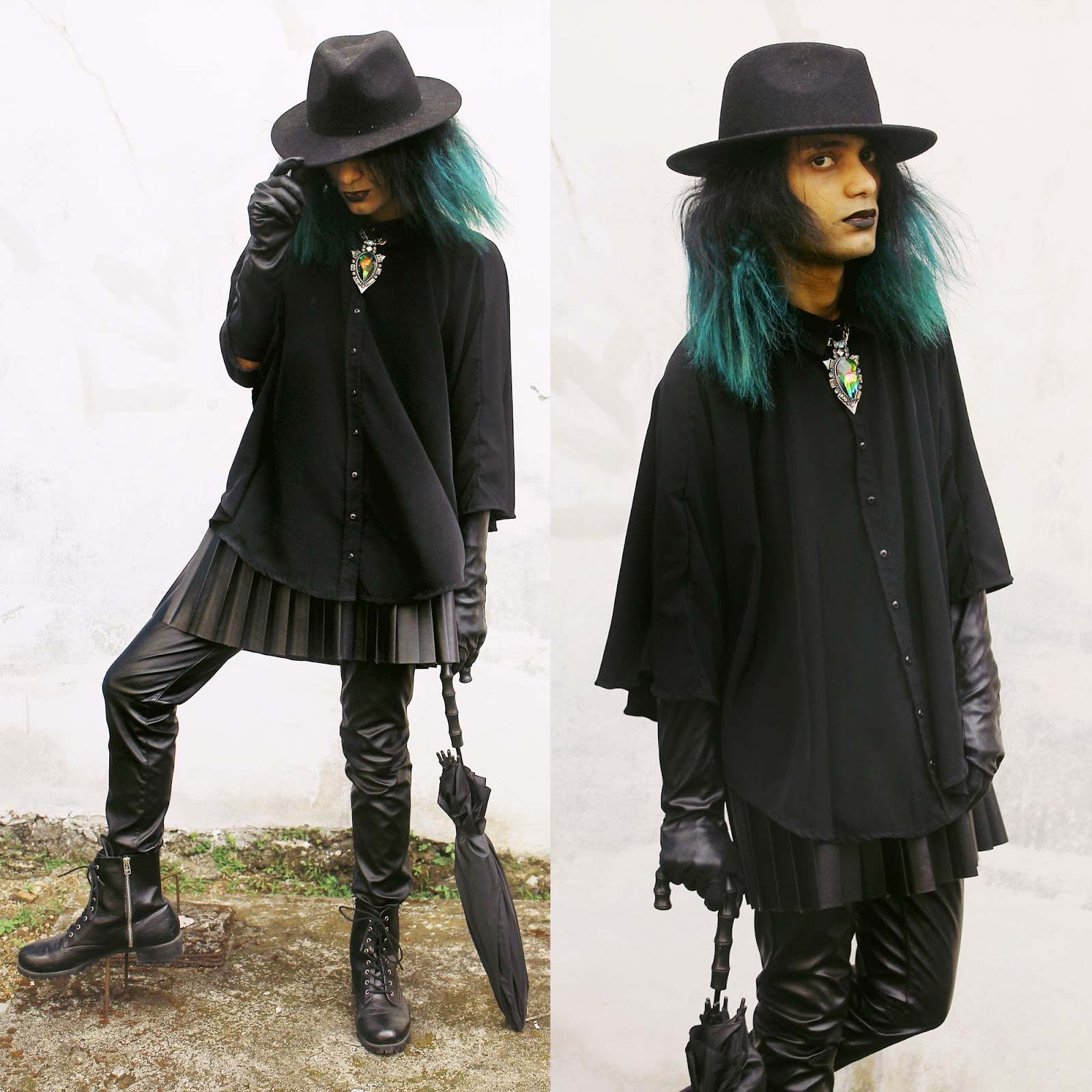 Mr. Rebel in Town: Modern Witch