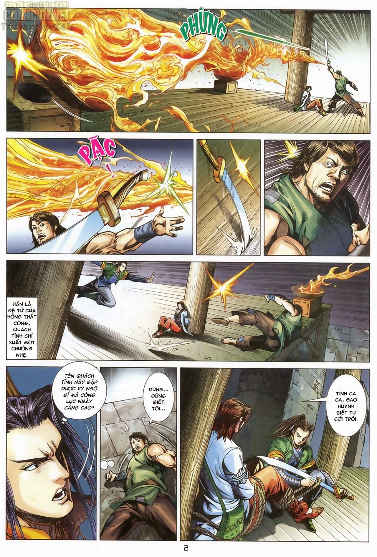 Anh Hùng Xạ Điêu anh hùng xạ đêu chap 67: quyết chiến hiên viên đài trang 5