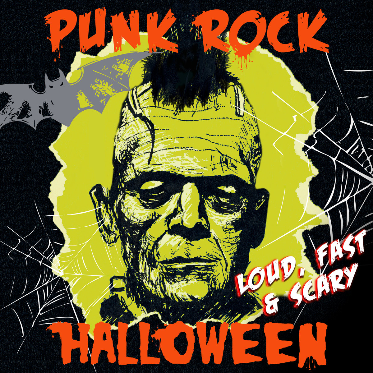 Screaming Fastcore ::: V A  - Punk Rock Halloween - Loud