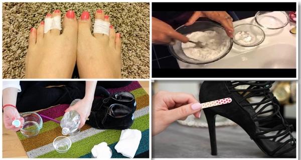 Multe femei isi prind degetele mijlocii de la picioare; vei vedea motivul