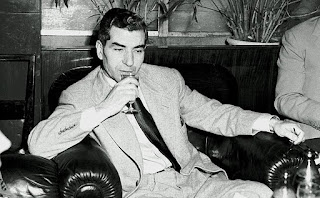 Charles 'Lucky' Luciano, pictured at the exclusive  Excelsior Hotel in Rome in 1948