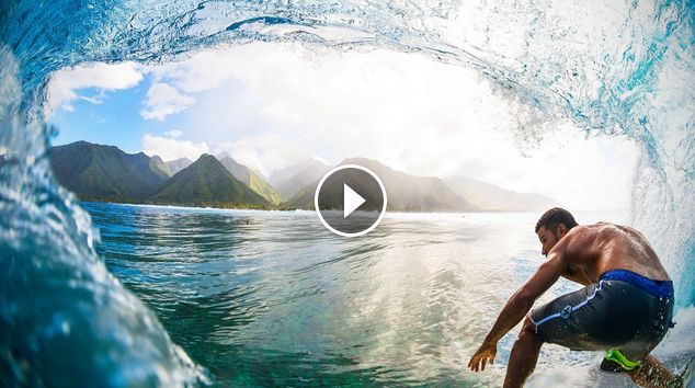 Surfing With Michel Bourez Epic Surf