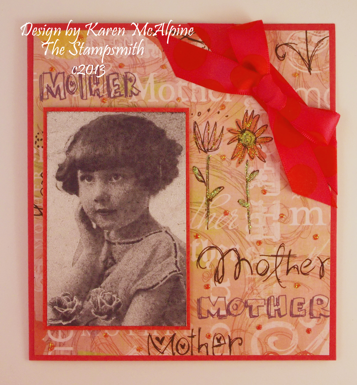 Dreaming and Creating: Mother's Day Card with Stampsmith ...