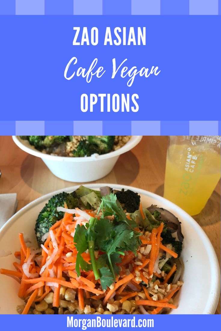 zao asian cafe vegan options