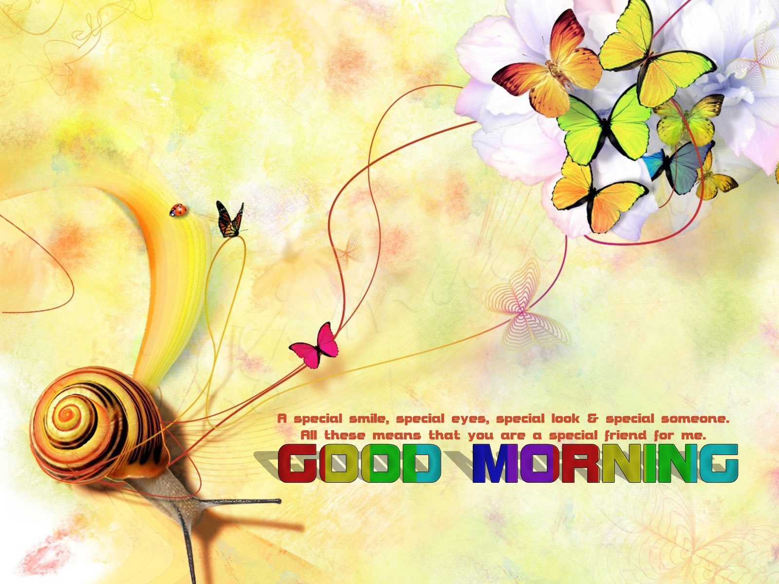 Good Morning Quotes For Someone Special: Good Morning With A Special Smile, Special Eyes, Special