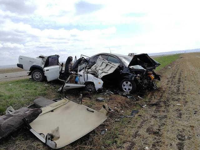 В Мелеузовском районе в ДТП погиб водитель и его жена