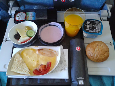 desayuno turkish airlines