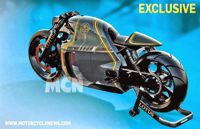 Hyperbike Lotus C-01 200HP