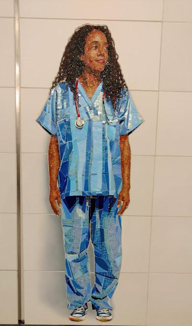 """""""Ідеальні незнайомці"""". Вік Муніз. Станція метро """"72nd Street"""", Нью-Йорк (""""Perfect Strangers"""". Vik Muniz. 72nd Street station. NYC)"""